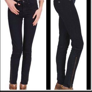 Rag & Bone Jean  New style retail $295 zip stretch